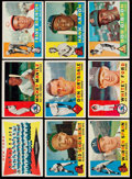 Baseball Cards:Lots, 1960 Topps Baseball Collection (436) including Mickey Mantle. ...