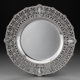 A Dominick & Haff LaFayette Pattern Silver Reticulated Platter, New York City, circa 1910 Marks: (logotype)
