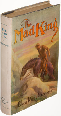Edgar Rice Burroughs. The Mad King. Chicago: 1926. First edition