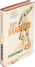 Books:Science Fiction & Fantasy, Ray Bradbury. Fahrenheit 451. New York: Ballantine, 1953. First edition, signed by the author and the dust j...