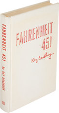 Books:Science Fiction & Fantasy, Ray Bradbury. Fahrenheit 451. New York: Ballantine, 1953. First edition, Johns-Manville Quinterra binding issue,...