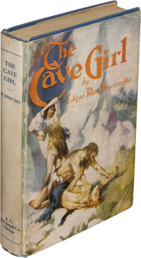 Edgar Rice Burroughs. The Cave Girl. Chicago: A. C. McClurg, 1925. First edition