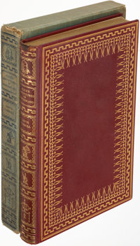 Lewis Carroll. Alice's Adventure's in Wonderland. New York: 1932. LEC edition, limited and sign