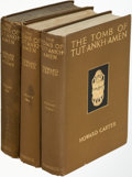 Books:World History, Howard Carter. The Tomb of Tut-Ankh-Amen. London: 1923-1933. First edition. ... (Total: 3 Items)