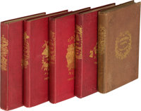 Charles Dickens. [Christmas Books], comprising: A Christmas Carol. With Illustrations by John L