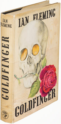 Ian Fleming. Goldfinger. London: [1959]. First edition
