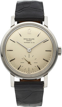 Patek Philippe, Ref. 3417, Very Rare Steel Amagnetic for Tiffany & Co, circa 1968