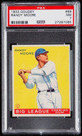 Baseball Cards:Singles (1930-1939), 1933 Goudey Randy Moore #69 PSA NM 7....