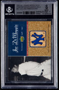 Baseball Cards:Singles (1970-Now), 2001 Kit Young Upper Deck Pinstripes exclusive Gold Joe DiMaggio#KY-JD2. ...