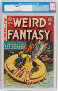 Golden Age (1938-1955):Science Fiction, Weird Fantasy #18 Gaines File Copy pedigree 8/11 (EC, 1953) CGC NM+9.6 White pages....