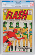 Silver Age (1956-1969):Superhero, The Flash #105 (DC, 1959) CGC FN/VF 7.0 Cream to off-white pages....