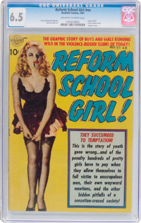 Reform School Girl #nn (Realistic Comics, 1951) CGC FN+ 6.5 Off-white to white pages