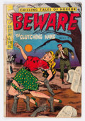 Golden Age (1938-1955):Horror, Beware #14 (#2) (Trojan/Prime, 1953) Condition: GD....