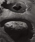 Photographs:Gelatin Silver, Brett Weston (American, 1911-1993). Untitled (Rock andwater), circa 1970s. Gelatin silver. 13 x 10-1/2 inches (33.0 x2...