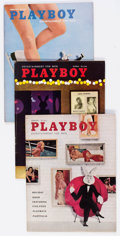 Magazines:Miscellaneous, Playboy 1958-60 Complete Years Group of 36 (HMH Publishing,1958-60) Condition: VG/FN.... (Total: 36 Items)
