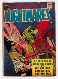 Do You Believe in Nightmares #1 (St. John, 1957) Condition: VG