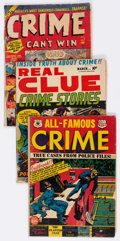 Golden Age (1938-1955):Crime, Golden Age Crime Related Group of 6 (Various Publishers, 1950s) Condition: Average GD.... (Total: 6 Comic Books)