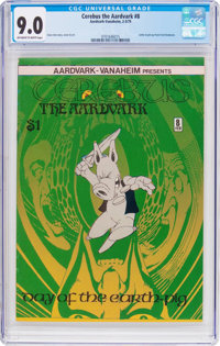Cerebus the Aardvark #8 (Aardvark-Vanaheim, 1979) CGC VF/NM 9.0 Off-white to white pages