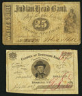 Obsoletes By State:New Hampshire, Brookline, NH- H. Tucker at Townsend Bank 3¢ July 4, 1864;. Nashua, NH- White & Hill at Indian Head Bank 25¢ Oct. 1, 186... (Total: 2 notes)