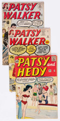 Silver Age (1956-1969):Humor, Patsy Walker-Related Group of 12 (Marvel, 1960-63) Condition: Average GD/VG.... (Total: 12 Comic Books)