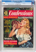 Magazines:Romance, Confessions Illustrated #1 Gaines File Pedigree 10/12 (EC, 1956) CGC NM+ 9.6 Off-white to white pages....