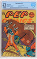 Pep Comics #22 (MLJ, 1941) CBCS Restored FN+ 6.5 (Moderate/Extensive) Off-white pages.... (1)