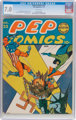 Pep Comics #23 (MLJ, 1942) CGC FN/VF 7.0 White pages