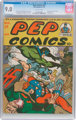 Pep Comics #31 (MLJ, 1942) CGC VF/NM 9.0 Off-white pages