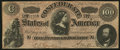Confederate Notes, CT65/491 Counterfeit $100 1864.. ...