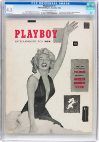 Playboy #1 (HMH Publishing, 1953) CGC VG+ 4.5 Off-white to white pages