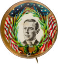 Political:Pinback Buttons (1896-present), Woodrow Wilson: Deceptively Rare Picture Pin. ...