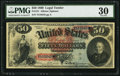 Large Size:Legal Tender Notes, Fr. 151 $50 1869 Legal Tender PMG Very Fine 30.