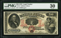 Large Size:Legal Tender Notes, Fr. 154 $50 1878 Legal Tender PMG Very Fine 30.