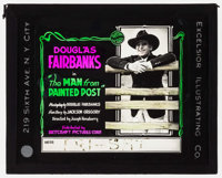 """The Man from Painted Post (Artcraft, 1917). Glass Slide (3.25"""" X 4""""). Western"""