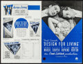 """Movie Posters:Comedy, Design for Living (Paramount, 1933). Uncut Pressbook (34 Pages, 11""""X 17""""). Comedy.. ..."""