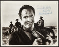 "Movie Posters:Western, Marlon Brando in One-Eyed Jacks (Paramount, 1961). AutographedPhoto (8"" X 10). Western.. ..."