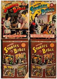 Picture Stories from the Bible Short Box Group of 25 (EC, 1940s-50s) Condition: Average GD
