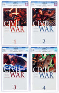 Modern Age (1980-Present):Superhero, Civil War #1-7 Complete Series Group (Marvel, 2006-07).... (Total:7 Comic Books)