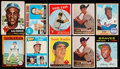 Baseball Cards:Lots, 1948 Through 1975 Bowman and Topps Baseball Star Collection (33)With Robinson, Koufax, Aaron, Rose. ...