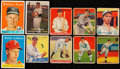 Baseball Cards:Lots, 1930's - 1950's Baseball Card Collection (96) With a Nice Stars& HoFers. ...