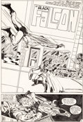 "Original Comic Art:Panel Pages, Rich Buckler ""Black Falcon"" Unpublished Story Page 1 Original Art(c. 1970s)...."