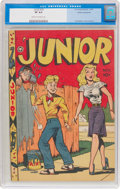 Golden Age (1938-1955):Humor, Junior #10 Cosmic Aeroplane Pedigree (Fox Features Syndicate, 1947) CGC VF 8.0 Cream to off-white pages....