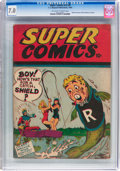 Golden Age (1938-1955):Humor, Super Comics V2#6 (F. E. Howard Publishing, 1944) CGC FN/VF 7.0 Off-white to white pages....
