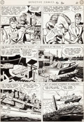 Original Comic Art:Panel Pages, Carmine Infantino and George Klein Detective Comics #146Story Page 4 Boy Commandos Original...