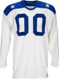 Football Collectibles:Uniforms, 1965 Jim Otto Game Worn, Signed American Football League All Star Jersey....