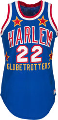 "Basketball Collectibles:Uniforms, 1979-85 Fred ""Curly"" Neal Game Worn Harlem Globetrotters Jersey. ...."