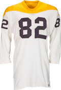 Football Collectibles:Uniforms, 1966-67 John Hilton Game Worn Pittsburgh Steelers Jersey. ...