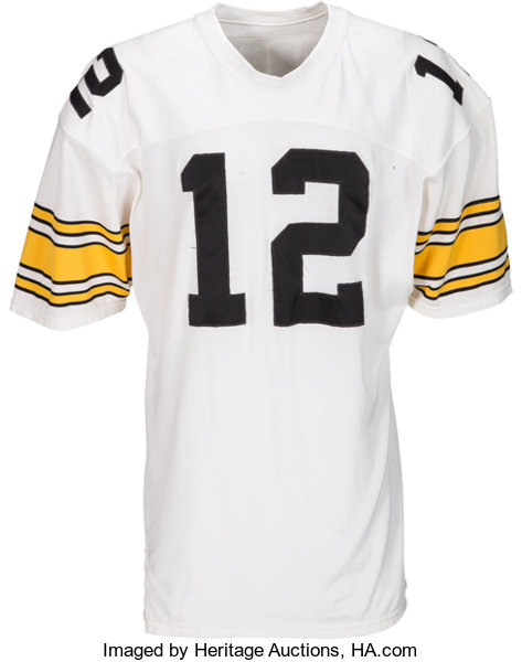 Worn 80099 1980's Steelers Lot Auctions Early Jersey Terry Bradshaw Game Pittsburgh Heritage