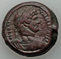 Ancients:Roman Provincial , Ancients: EGYPT. Alexandria. Hadrian (AD 117-138). AE drachm(24.41). Good Fine, smoothed, tooled....