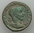 Ancients:Ancient Lots , Ancients: ANCIENT LOTS. Roman Imperial. Lot of two (2) Gordian III(AD 238-244) AR and AE. VF-XF.... (Total: 2 coins)